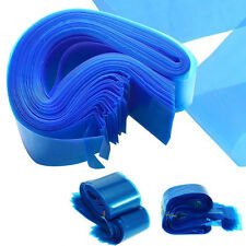 100Pcs Clip Cord Sleeves Bags for Tattoo Machine Blue Disposable Covers Supplies