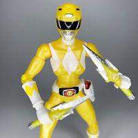 Power Rangers Legacy Collection MIGHTY MORPHIN' YELLOW  Metallic Figure Bandai