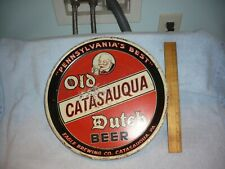 """Vintage """"Old Dutch Beer""""  Advertising Tray,eagle brewery catasauqua pa"""