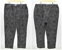 Womens PERSONA by Max Mara Denim Pants Trousers Grey Stretch Plus Size 29 / UK24