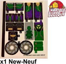 Lego - 1x Sticker Autocollant Super Heroes 76097 Lex Luthor Mech Takedown NEUF