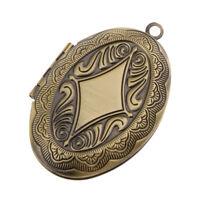 Portafoto a forma ovale con cornice pendente con ciondolo Accessorio fai da