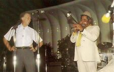 President Jimmy Carter and Dizzy Gillespie at White House Jazz Festival Postcard