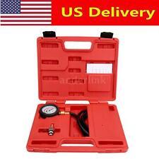 Car Exhaust Back Pressure Tester Set Pressure Gauge Test Tool Sensor Kit US W1O7