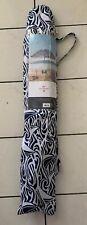 Vineyard Vines Target 6' Rough Seas Beach Umbrella with Drink Holder Navy/White