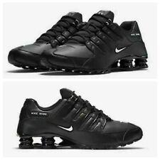 Nike Shox NZ EU Casual Shoes Black White 501524-091 Men's New Sz 8.5-12