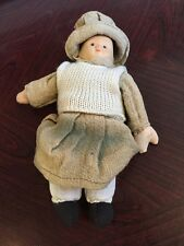 Fabulous Old Doll With Ceramic Head