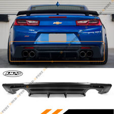 For 2016-18 Chevy Camaro LT RS SS Shark Fin Rear Bumper Diffuser Replacement PP