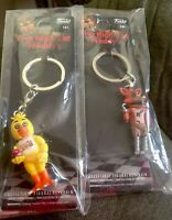 Funko - POP Keychain: Five Nights At Freddy's Lets Eat Chic Rockstar Foxy New