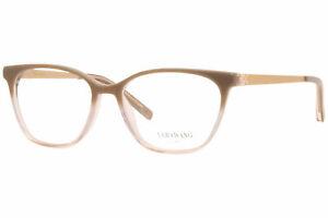 Vera Wang Melrose CA Eyeglasses Women's Cafe Latte Full Rim Optical Frame 51mm
