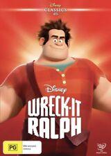 WRECK IT RALPH DVD DISNEY CLASSICS NEW & SEALED- FREE POSTAGE! REGION 4