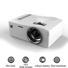 Full HD 1080P Mini Projector LED Multimedia Home Cinema Theater USB AV HDMI HGUK