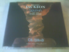 MICHAEL JACKSON / JANET JACKSON - SCREAM - 4 TRACK CD SINGLE