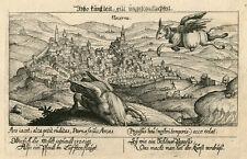 Nocera Umbra/Italia Kupferstich, Meisner's Schatzkästlein, ca. 1624/25