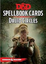 Dungeons & Dragons Next RPG: Druid Circles Spellbook Deck (21 cards) 5th Edition