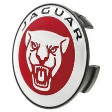 "Jaguar New Genuine Red ""Growler"" 6cm Alloy Wheel Centre Cap C2D47107"