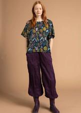 BNWT Gudrun Sjoden Size XL UK 20 Black Floral Cotton Rigmor Blouse Shirt Top