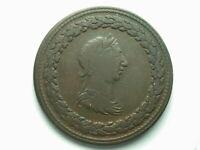 Canada Lower 1812 Half Penny Token #1