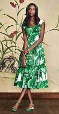 DOLCE & GABBANA $1995 Banana Leaf Dress BNWT SZ 38-SOLD OUT- Last one!