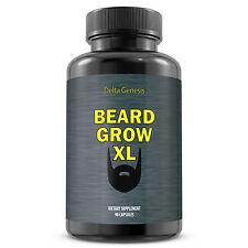 Beard Grow XL | Facial Hair Supplement | #1 Mens Face Hair Growth Vitamins