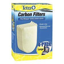 Aquarium Filter | Tetra Whisper EX Carbon Filter Cartridges - Ready to Use