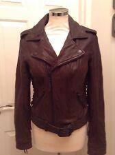 True Religion Leather Jacket size 10