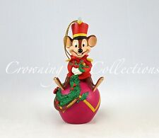 Disney Timothy the Mouse on a Red Ornament Dumbo Disney Artist Collection Parks