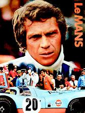 Le Mans - 1971 - Movie Poster - Steve McQueen