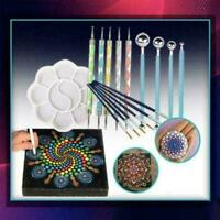 1 Set Embossing Stylus Mandala Dotting Tool Painting Art Stencil Drawing Z1N8
