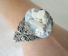 Butterfly Cuff Bracelet, boho bohemian hippie gypsy new age nature victorian