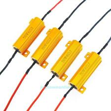 4 Pieces LED Indicator 50W 6Ω Flash Rate Relay Load Resistor Bulbs Ballast #JT1