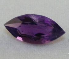 Piedra Preciosa Natural Amatista Facetado Marquesa Royal Purple Gem AM7C 3.5X8mm 0.5CT