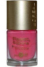 L'oreal Nail Polish Resist & Shine Titanium Candy Pink 106 Top Coat Varnish 9ml