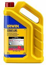 IRWIN Tools STRAIT-LINE Standard Marking Chalk, 5-pound, Red 65102