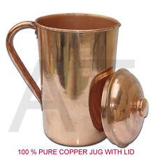 Copper Water Pot Jug storage Bottle Ayurveda Health Benefit copper vessel 1.5L