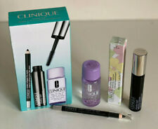 NEW! CLINIQUE CHUBBY LASH FATTENING MASCARA / EYELINER / MAKEUP REMOVER SET $37