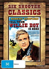 Tell Them Willie Boy Is Here (DVD) Western Robert Redford [Region 4] NEW/SEALED