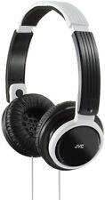 JVC Riptidz Portable On-ear Headband Headphones - White Has200wef