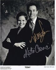 MATT LAUER & KATIE COURIC signed autographed THE TODAY SHOW photo