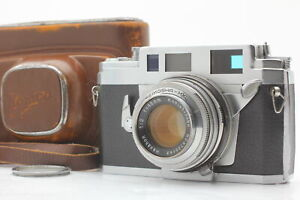 READ! [Exc+5 w/ case] Konica IIIA Rangefinder Camera Hexanon 48mm F2 From Japan
