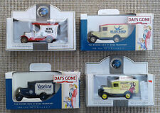 """4 LLEDO """"DAYS GONE"""" & PROMOTIONAL DIE CAST VINTAGE COMMERCIAL VEHICLES - BOXED."""