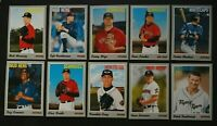2019 Topps Heritage Minor League Detroit Tigers Base Team Set 10 Cards