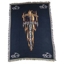 "Orange Countty Choppers OCC Dagger Tapestry Blanket Throw Afgan 70"" x 52"" NEW!"