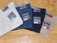 BNWT Kirkland Signature Mens Non-Iron Classic Fit 100% cotton pant 5 COLOURS