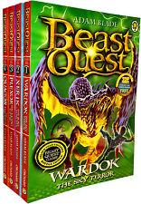 Beast Quest Series 15 Adam blade 4 Books Collection Set Wardok, Xerik, Plexor