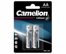 Lot 8 piles au Lithium photo AA FR06 1.5V Camelion remplacent LR06 / LR6 / R6