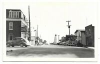 Elgin County PORT BURWELL, ONTARIO Main Street - Real Photo Postcard