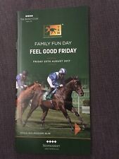 Newmarket Race Card, 25th August 2017, Fun Friday