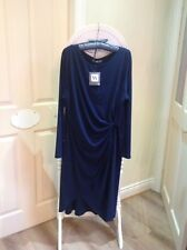 Womens Navy Blue Dress Size 22 (BHS) £32