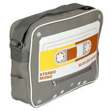 Retro Cassette Tape Messenger Sports Bag 30 off